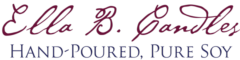 Ella B. Candles brand logo
