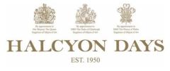 Halcyon Days brand logo