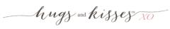 Hugs and Kisses XO logo
