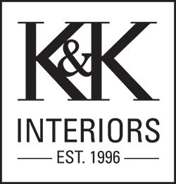 K & K Interiors brand logo