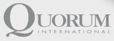 Quorum International logo