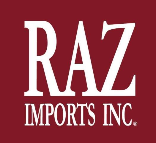 RAZ Imports brand logo