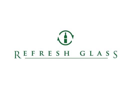 Refresh Glass logo