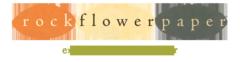 Rock Flower Paper logo