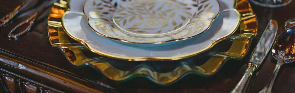 BC Clark - Tableware Annieglass limoges lifestyle image