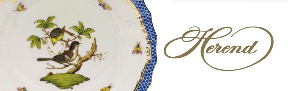 Herend - Bird plate lifestyle image