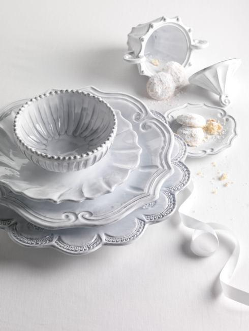 $180.00 Lace Four-Piece Place Setting