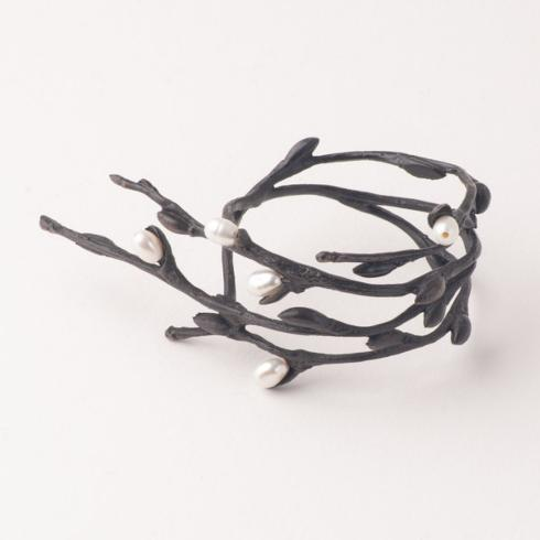 $82.00 Pussy Willow napkin rings set 4