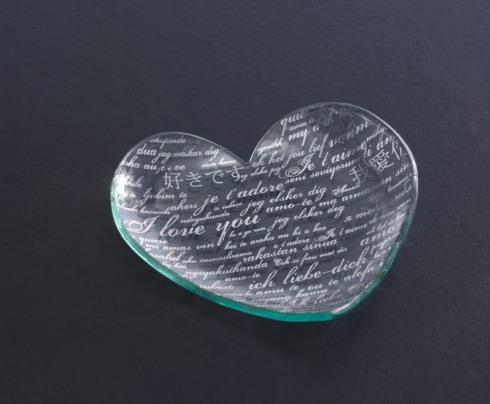 "7"" Sweet Nothings Heart Plate"