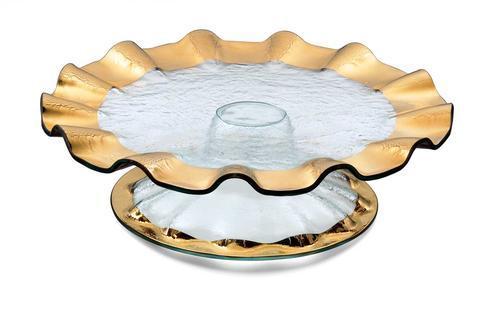 "14 ¼"" pedestal cake plate (5"" high)"