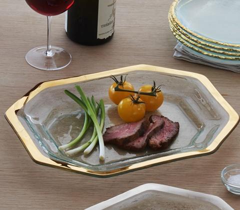 "14 x 10 ½"" steak platter"