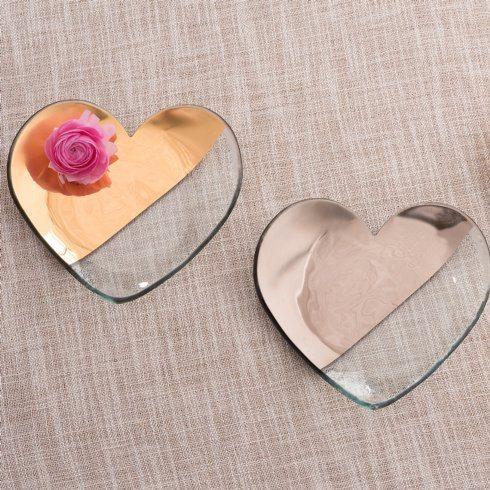 """7"""" heart plate"""
