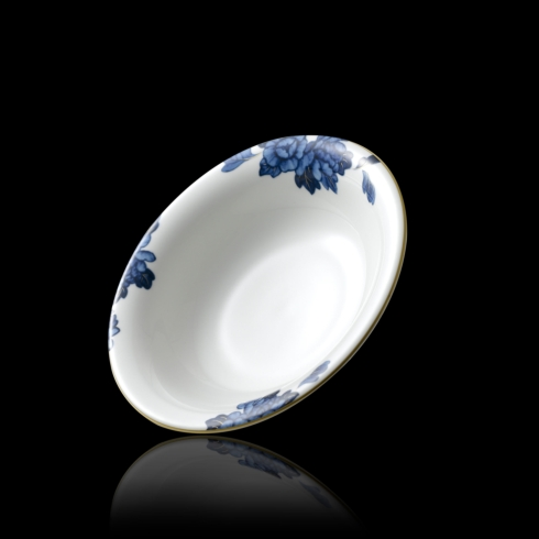 $35.00 Emperor Flower Rim Soup Bowl