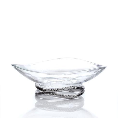 $125.00 Braid Glass Centerpiece