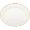"$136.00 Lenox Federal Gold 13"" Platter"