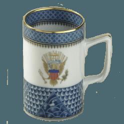$125.00 Indigo Wave Mug