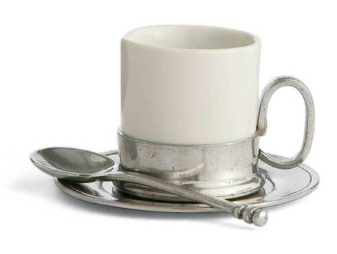 $108.00 Espresso Cup & Saucer with Spoon