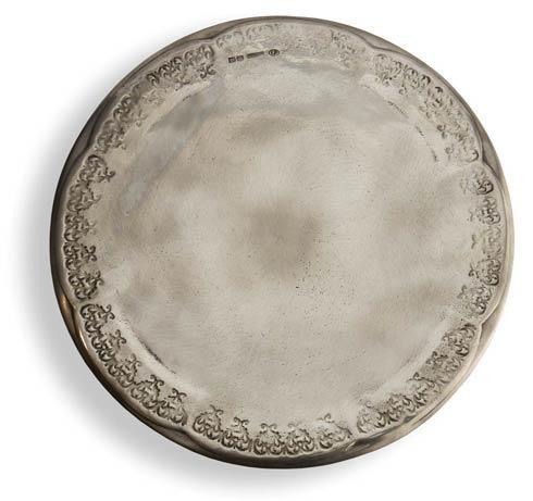 $284.00 Pewter Cake Plate