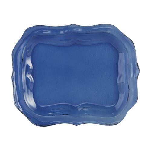$50.00 Glass Small Blue Tray