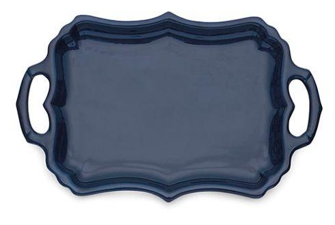 $139.50 Blue Tray with Handles