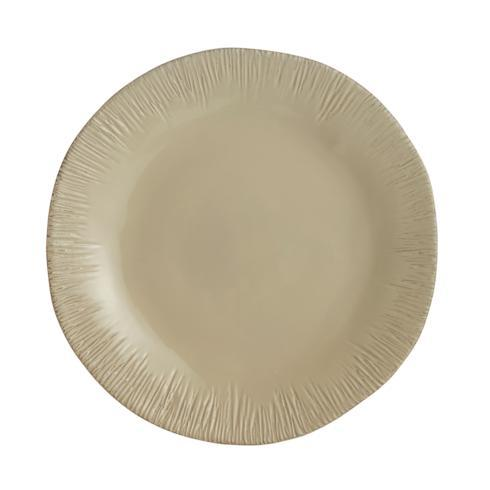 $135.00 Taupe Round Platter