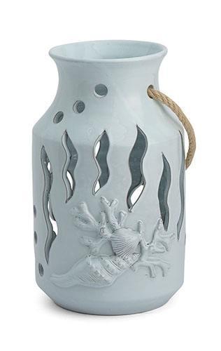 $210.00 Blue Small Lantern