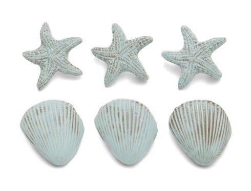 $122.00 Blue Set of Napkin Rings