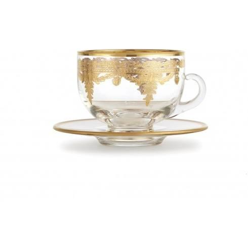 $117.00 Gold Coffee Cup/Saucer