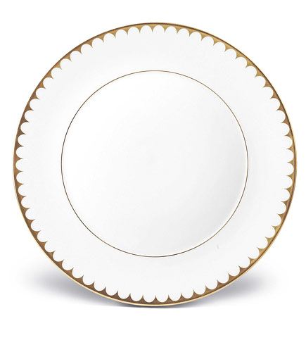 $132.00 Aegean Gold Filet Dinner Plate