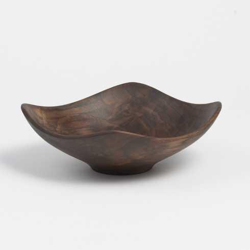 """$200.00 Black Walnut 13"""" Echo Bowl ADP-021"""