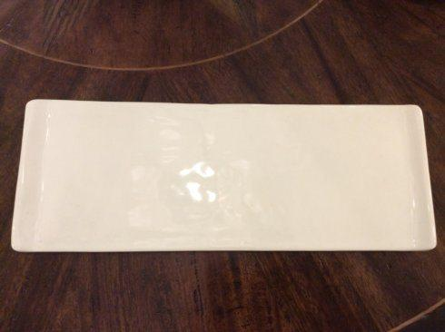 $101.00 Signature Brooklyn White Large Skinny Tray AGS-406