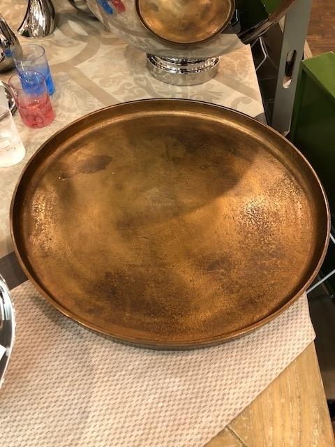 $70.00 Aristide Cast Bronze Small Tray RST-246