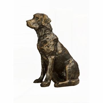 $65.00 Bronze Labador Sculpture DES-165