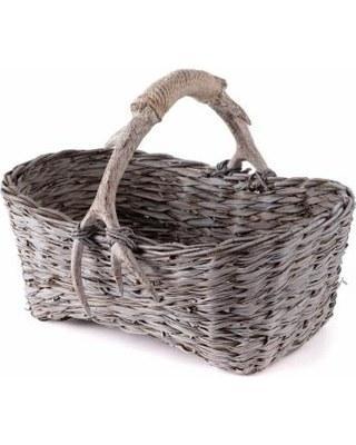 $182.00 Caribou Rectangular Basket NAP-333