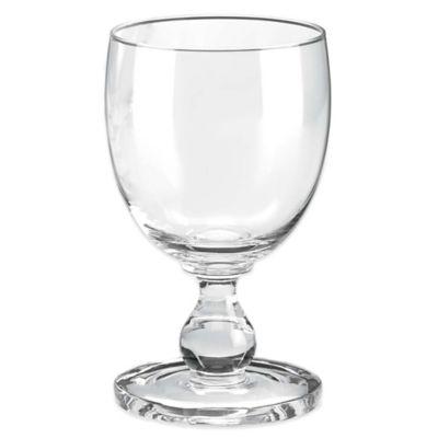 $10.50 Hannah Clear Goblet DA-261