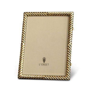 $185.00 5x7 Deco Twist Gold Frame LO-181