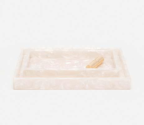 $120.00 Rolo Pearl Square Small Tray PGP-228