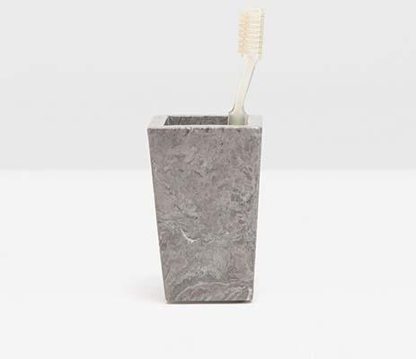 $52.00 Veneto Gray Brush Holder PGP-212