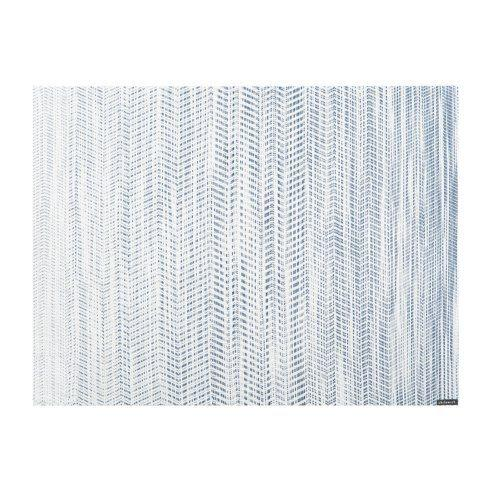 $15.00 Wave Blue Rect Mat CWH-050