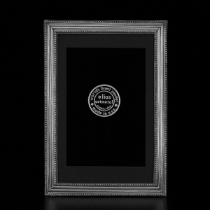 $84.00 Classico Pewter 4x6 Frame