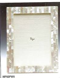 $97.00 Mother of Pearl White 5x7 Frame