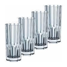$40.00 Aspen Long Drink Glasses Set/4