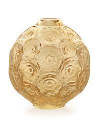 $950.00 Anemones Bud Vase Gold Luster