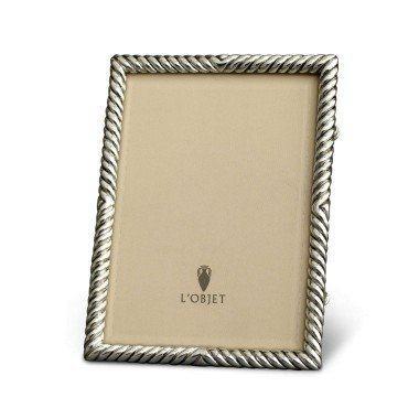 $185.00 Deco Twist Platinum 5x7 Frame