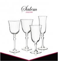 $30.00 Salem Goblet S/4