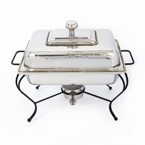 $315.00 S/S Polished Rect Chafer 6qt