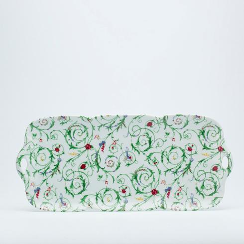 $300.00 Rectangular cake platter