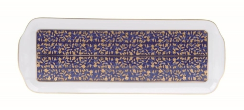 $275.00 Blue rectangular platter