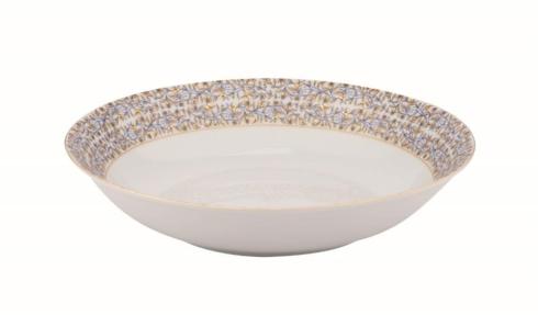 $225.00 White deep round platter