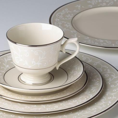 $75.00 Lenox Pearl Innocence cup/saucer